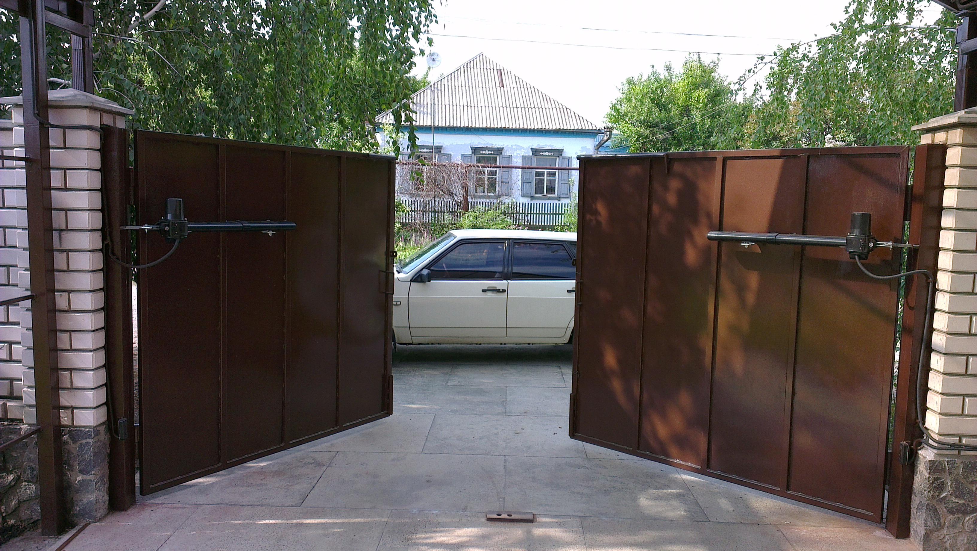 Картинки автоматика на ворота